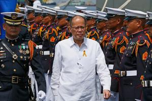 Outgoing Philippine President Benigno Aquino III. Photo / AP