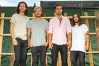 Kaleo are making waves overseas. Photo/AP