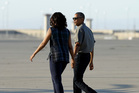 President Barack Obama and first lady Michelle Obama. Photo / AP