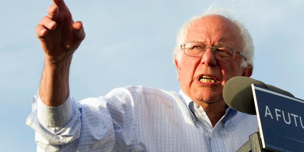 Democratic presidential candidate Senator Bernie Sanders. Photo / AP