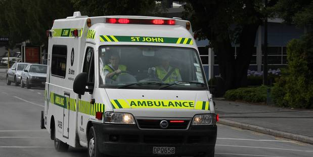 St John's Ambulance respond to an explosion north of Auckland. Photo / File