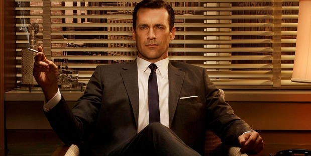 John Hamm as Don Draper in the television series, Mad Men.