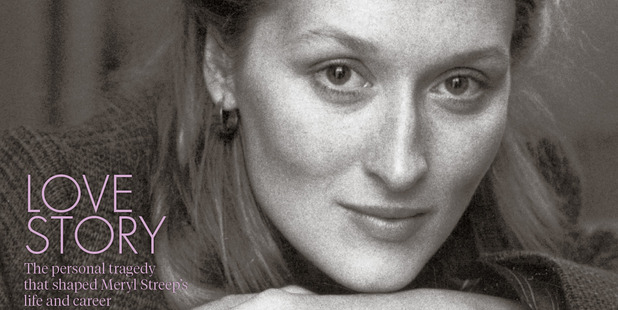Meryl Streep on the cover of tomorrow's Canvas magazine.