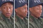 Pharrell Williams' reaction to Maggie Roger's song Alaska.