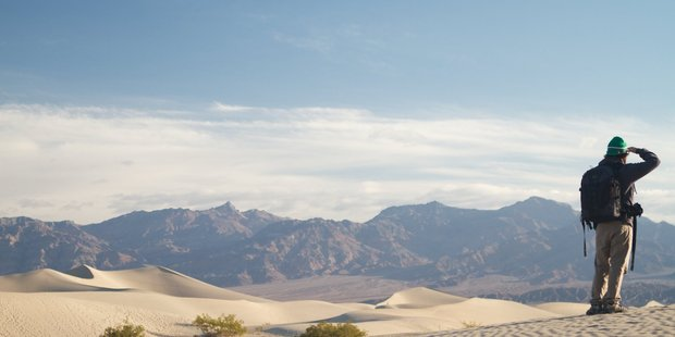 Scenes from the original Star Wars trilogy were filmed in Death Valley National Park. Photo / Visit the USA