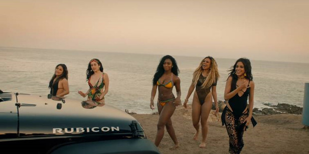 In their latest music video Fifth Harmony showed off more than just their vocal range and dancing skills as they frolicked around in revealing bikinis.