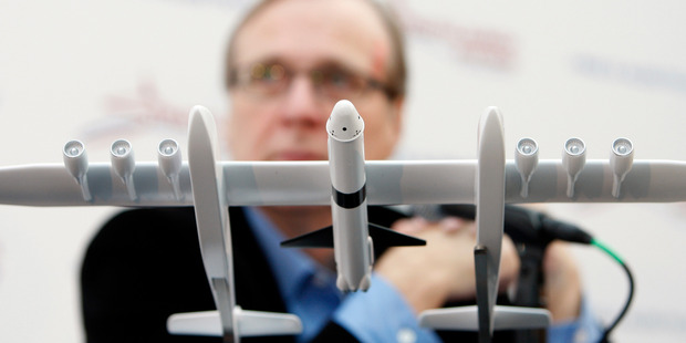 Microsoft co-founder Paul Allen said Stratolaunch Systems will bring 'airport-like operations' to space flights, including eventual human missions. Photo / Getty Images