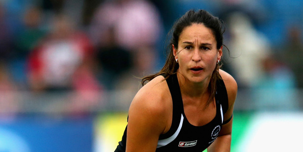 Kayla Whitelock in action during the Commonwealth Games. Photo / Getty Images