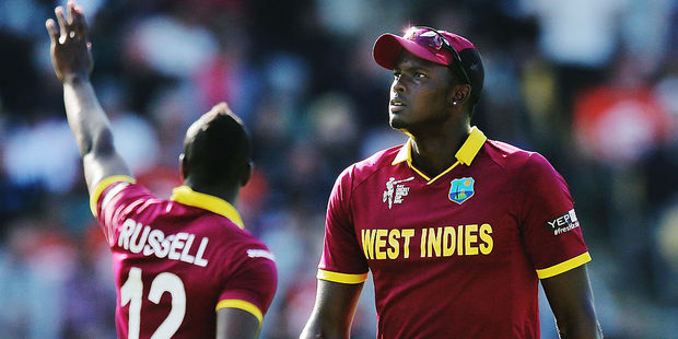 West Indian skipper Jason Holder. Photo / Getty