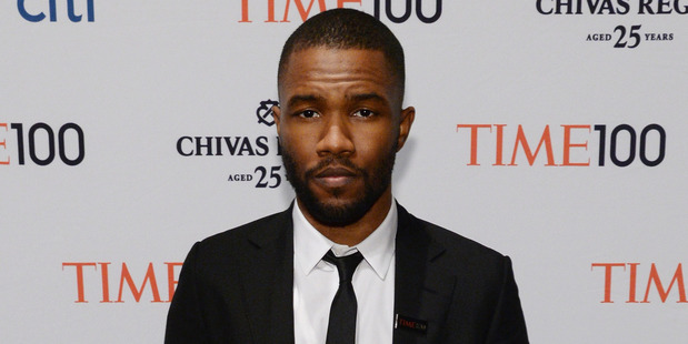 Frank Ocean. Photo / Getty Images