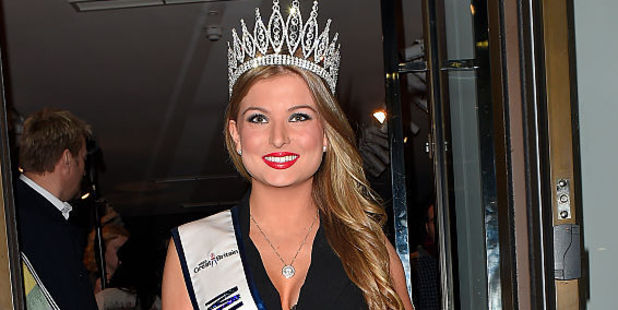 Former Miss Great Britain Zara Holland, was 'de-crowned' after having sex on reality TV show Love Island. Photo / Getty