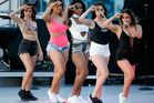 Fifth Harmony perform at The Boulevard Pool at The Cosmopolitan of Las Vegas. Photo / Getty Images