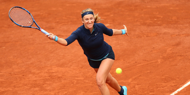 Victoria Azarenka during the 2016 French Open at Roland Garros. Photo / Getty Images