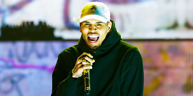 Chris Brown responded to allegation of his beating up his manager via Instagram. Photo / Getty Images