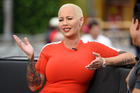 Amber Rose is calling out a double standard in Taylor Swift's defense. Photo / Getty Images
