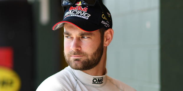 Shane Van Gisbergen during qualifying of the Hidden Valley Triple Crown. Photo / Getty Images