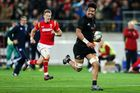 Ardie Savea breaks away for a try. Photo / Getty