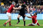 Beauden Barrett could get a chance to start against Wales in the third test. Photo / Getty