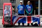 Campaigners for 'Britain Stronger in Europe', the official 'Remain' campaign group. Photo / Getty
