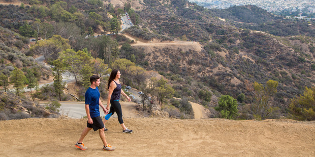 Hiking in Griffith Park. Photo / Los Angeles Tourism & Convention Board