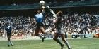Maradona's 'Hand of God' Goal (1986)
