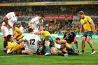 That's a reasonable assumption on this month's evidence as the All Blacks won their series with Wales and the Wallabies lost their way against England. Photo / Getty Images