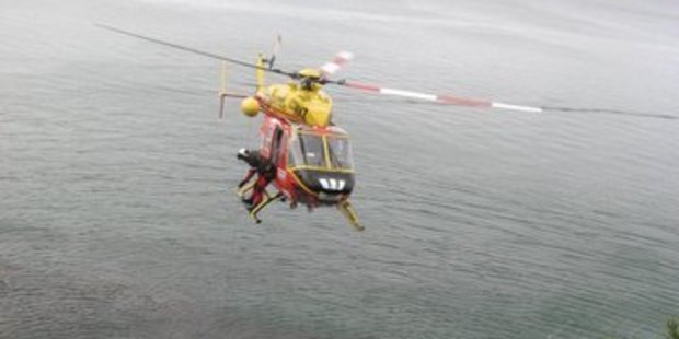 Loading The incident sparked a dramatic rescue operation, pulling in the Fire Service, ambulance, Coastguard and the Auckland Westpac Rescue Helicopter. Photo / Supplied