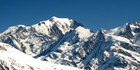 The avalanche on Mont Blanc in the French Alps may have been triggered by a police training exercise. Photo / Getty