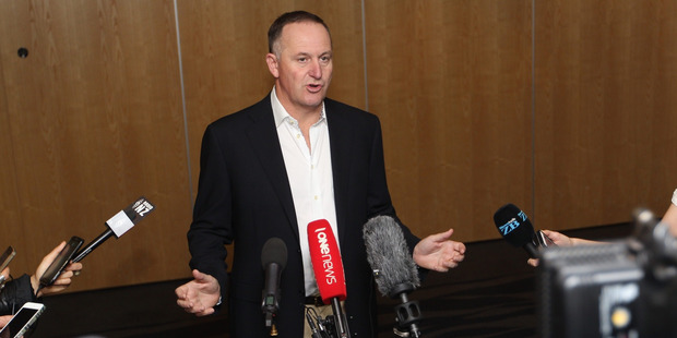Loading Prime Minister John Key speaks to media on the Brexit episode at Skycity Auckland. Photo / Nick Reed