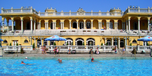The Szechenyi Bath and Spa in Budapest. Photo / Flickr/hillman54