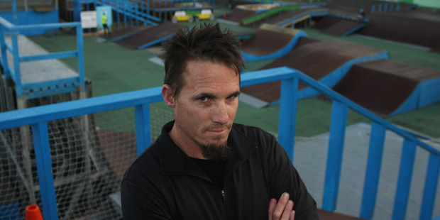 UNHAPPY: Matt Cooper is seeking legal advice over council plans for SK8 Zone. PHOTO/PAUL TAYLOR