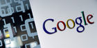 Google Search interest in the British pound - in free fall since the result - is at its highest level ever. Photo / AP