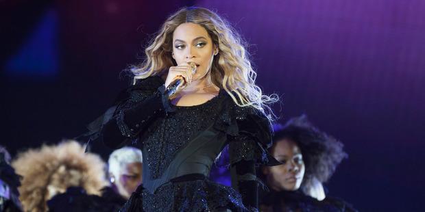 Beyonce. Photo / AP