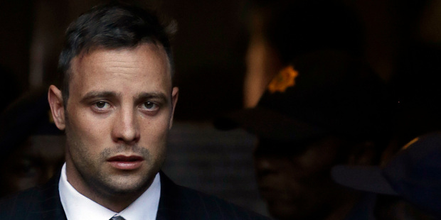 Loading Oscar Pistorius leaves the High Court in Pretoria, South Africa. Photo / AP