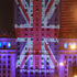 The Palace of Culture and Science is illuminated with the British flag by Warsaw's capital authorities in support of Britain staying in the EU, in Warsaw, Poland. Photo / AP