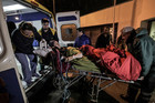 A worker from the U.S. South Pole Amundsen-Scott station arrives at a clinic in Punta Arenas, Chile. Photo / AP