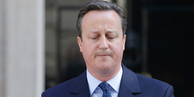 Loading Britain's Prime Minister David Cameron says he will resign by the time of party conference in the fall after Britain voted to leave the European Union. Photo / AP