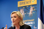When the Brexit results were announced, French far-right leader Marine Le Pen, tweeted simply