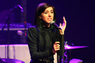 Christina Grimmie performing at Center Stage Theater, in Atlanta. Photo / AP