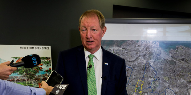 Housing minister Nick Smith is looking at how to enable private developers to take care of infrastructure that usually falls to councils. Photo / File