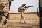 Kiwi troops are based at Camp Taji in Iraq. Photo / Mike Scott