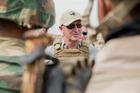 Prime Minister John Key visited kiwi troops based at Camp Taji in Iraq last year. Photo / Fairfax