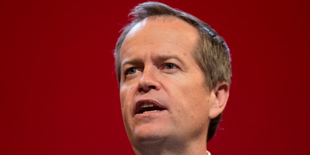 Bill Shorten officially launched Labor's campaign two weeks out from the federal election. Photo / Mark Mitchell