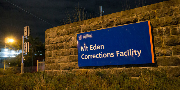 The stand-off lasted for an hour at the Mt Eden facility. Photo / Steven McNicholl