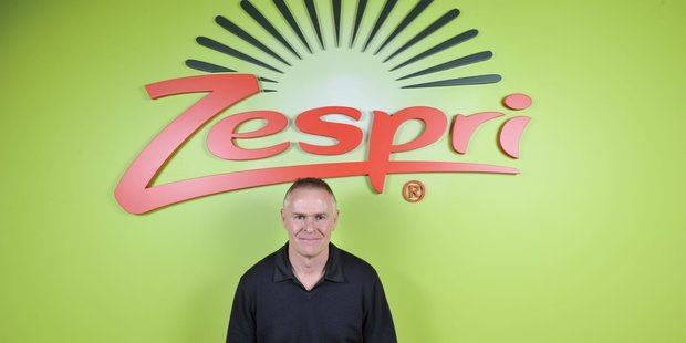 Zespri today updated its forecast corporate profit range after tax for 2016/17 to $70-$75 million. Pictured is chairman Peter McBride
