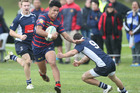 Rotorua Boys' High  1st XV player Hayze Perham and his side continue their running streak in the Super 8 rugby competition