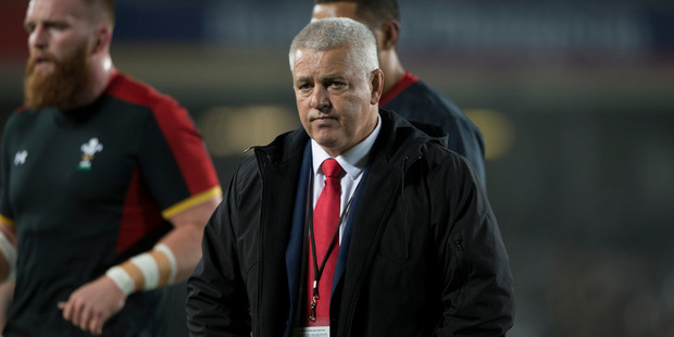 Loading Wales rugby coach Warren Gatland, during the first test match between the All Blacks and Wales, played at Eden Park, Auckland. 11 June 2016. Photo /  Brett Phibbs.