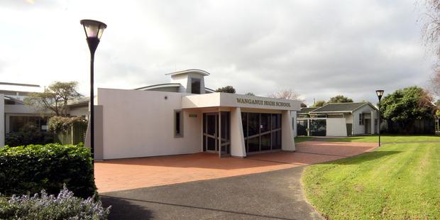 Whanganui High School. Photo/file