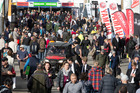 National Agricultural Fieldays held at Mystery Creek near Hamilton attracted 130,684 visitors over the four days, just shy of the record attendance in 2006. Photo / Alan Gibson