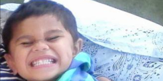 Three year old Moko Sayviah Rangitoheriri